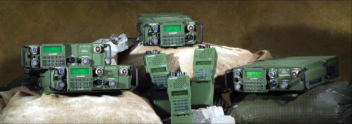 Harris Corporation's RF-5800H-MP FALCON® II manpack is the