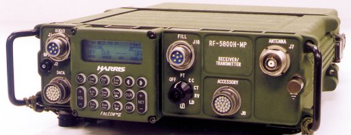 Harris Corporation's RF-5800H-MP FALCON® II manpack is the